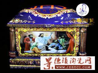 订购高档景德镇陶瓷骨灰盒价格走势