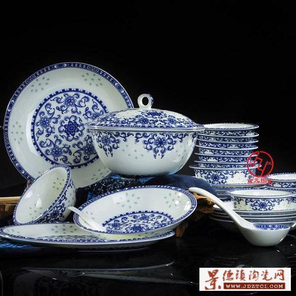 中秋节礼品陶瓷餐具定做