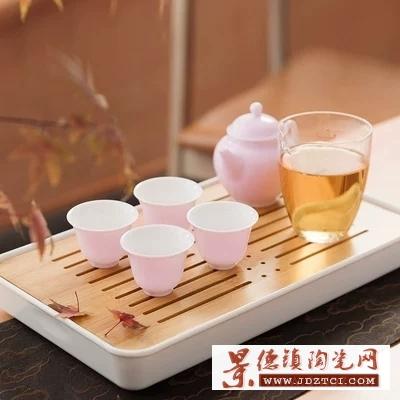 陶瓷一壶一杯单人茶具便携旅行易泡壶