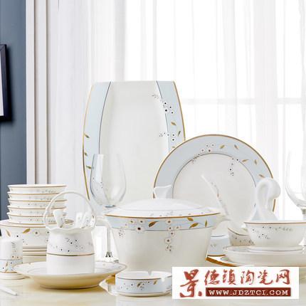 骨瓷餐具碗盘勺