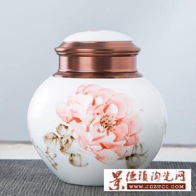 工厂青花瓷茶叶罐礼盒批发