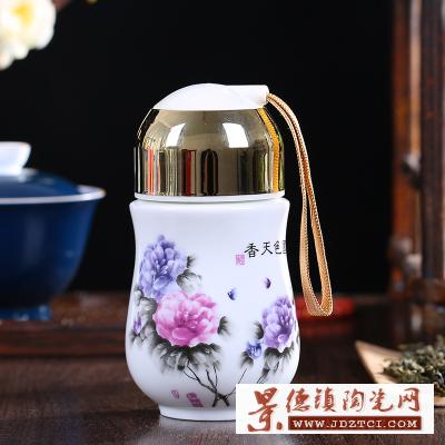 景德镇陶瓷保温杯