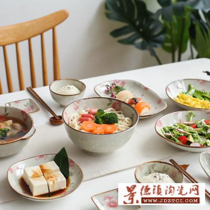 日式雪花和风餐具